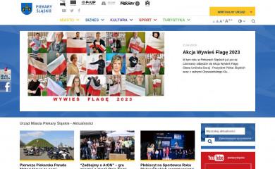 piekary.pl screenshot
