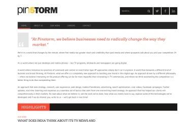 pinstorm.com screenshot