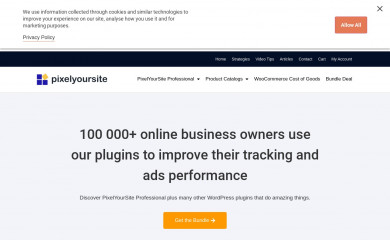 pixelyoursite.com screenshot