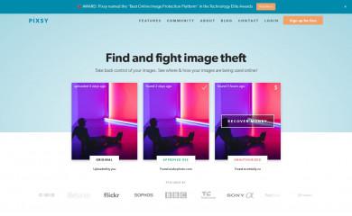 http://pixsy.com screenshot