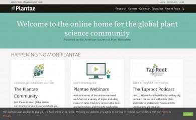 plantae.org screenshot
