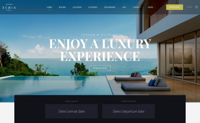 http://plethorathemes.com/hotel-xenia/ screenshot