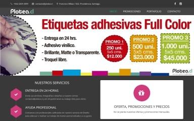 plotea.cl screenshot