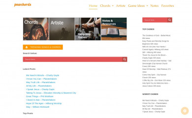 pnwchords.com screenshot