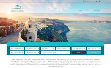 polarcruiseescapes.com.au screenshot