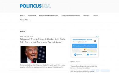 politicususa.com screenshot