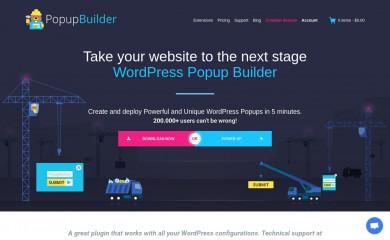 http://popup-builder.com screenshot