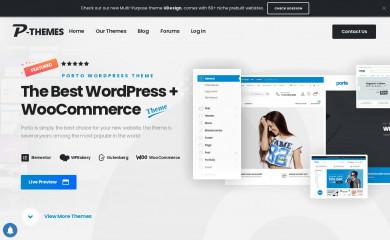 portotheme.com screenshot