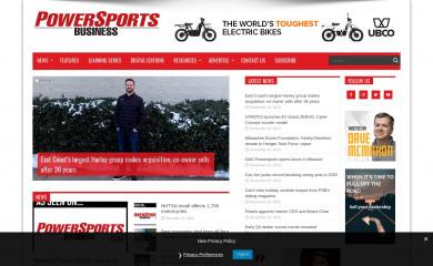 http://powersportsbusiness.com screenshot