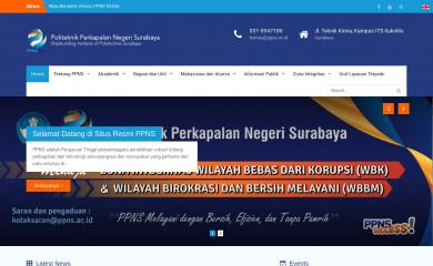 http://ppns.ac.id screenshot