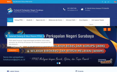 ppns.ac.id screenshot
