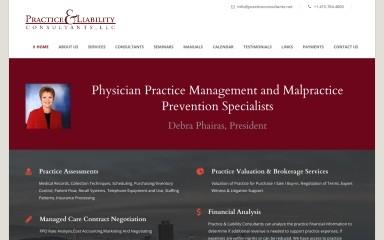 practiceconsultants.net screenshot