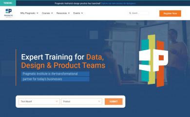 pragmaticinstitute.com screenshot