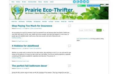 prairieecothrifter.com screenshot