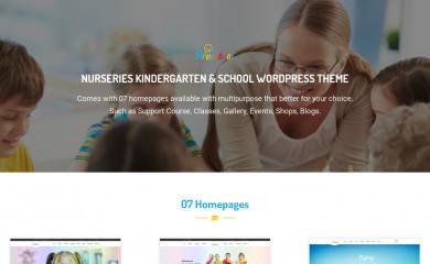 http://preschool.jwsuperthemes.com screenshot