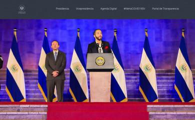 presidencia.gob.sv screenshot