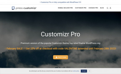 http://presscustomizr.com/extension/customizr-pro/ screenshot