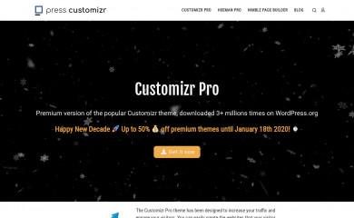 Customizr Pro screenshot