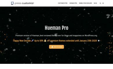 Hueman Pro screenshot
