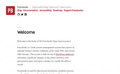 http://pressbooks.pub screenshot