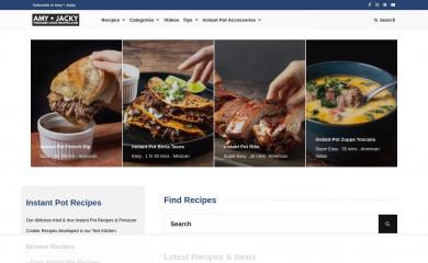 http://pressurecookrecipes.com screenshot