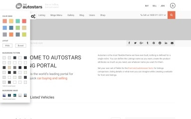 AutoStars Child Theme screenshot