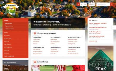 http://preview.lsvr.sk/townpress screenshot