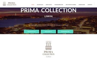 http://primacollection.com screenshot