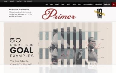 http://primermagazine.com screenshot
