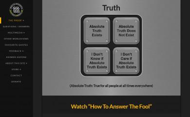 http://proofthatgodexists.org screenshot