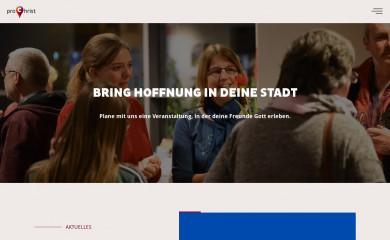 prochrist.org screenshot