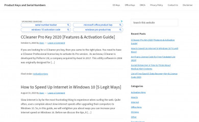 productkeysdl.com screenshot