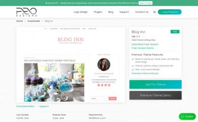 Blog Inn screenshot
