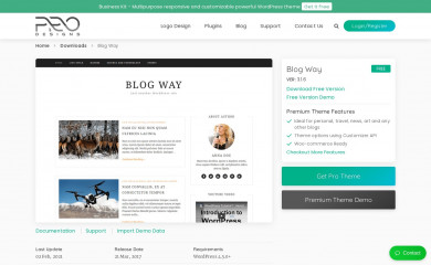 Blog Way screenshot
