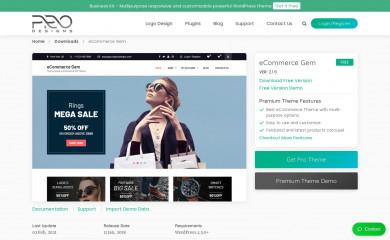 eCommerce Gem screenshot