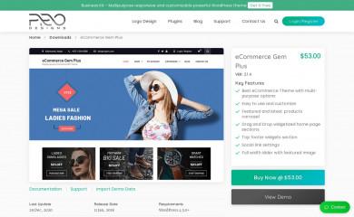 eCommerce Gem Plus screenshot