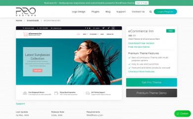 eCommerce Inn screenshot
