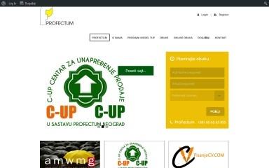 profectum.rs screenshot