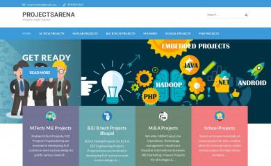 http://projectsarena.com screenshot