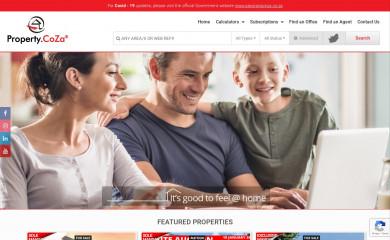 propertycoza.co.za screenshot