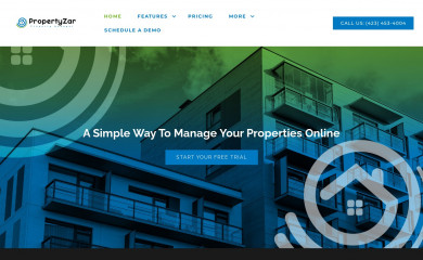 propertyzar.com screenshot