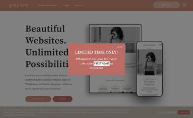 http://www.prophoto.com/ screenshot
