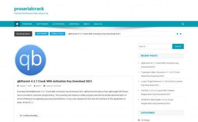 proserialcrack.com screenshot
