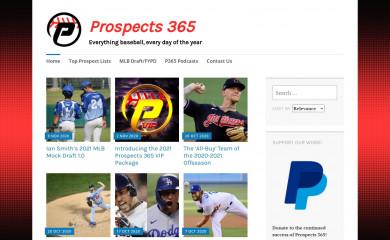 http://prospects365.com screenshot