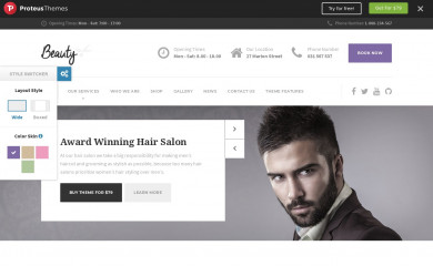 Hairpress WP Theme screenshot