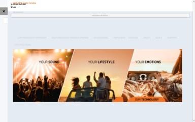 prvaudio.com screenshot