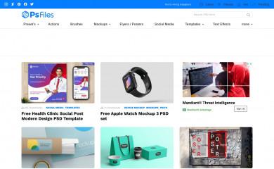 psfiles.com screenshot