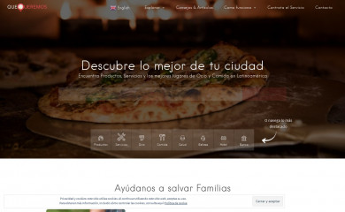 http://quequeremos.com screenshot