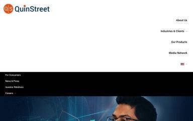 quinstreet.com screenshot