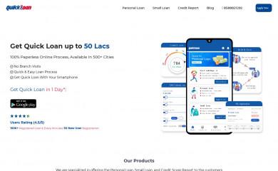 quikkloan.com screenshot